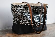 Canvas and linen bags and backpacks / by Charlotte van Welsem