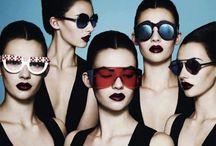 Vogue / I really dig fashion and makeup editorials, yo
