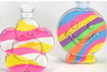 Colored Sand and Sand Art / These are all the cool things you can do with colored sand and sand art bottles! Colored sand and sand art is great for birthday parties, themed parties and more. Visit www.coloredsand.com to see all of our fun sand art!