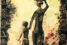 Africa / Il mondo dell'Africa raccontato in semplici pennellate
