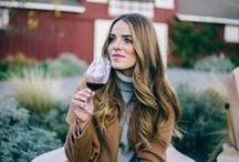 """Wine Country Style / """"A girl should be two things: classy and fabulous."""" - Coco Chanel"""