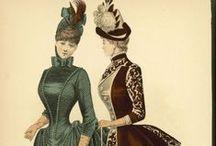 Ladies Dress 19th Century.