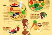 Por uma vida mais saudável / Dicas de alimentação, armazenamento de alimentos, higiene na cozinha