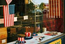 america / A taste of vintage AMERICANA curated by American in Paris watercolor illustrator, Jessie Kanelos Weiner. American dream, American flag, USA, pop culture, vintage American, Yankee Doodle, color photography
