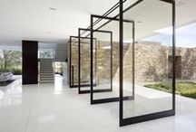 door jam / Doors:  Exterior, interior, statement, et al.