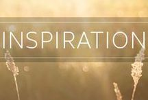 Inspiration / Be moved. Be inspired. Inspire others...