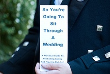Wedding Program / Wedding program ideas from funny to serious and something in between