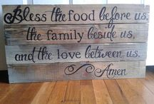 home sweet home blessings / by Linda Martin