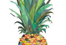 Pineapples / by Kathy Hill