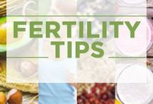 Fertility Tips / Get started boosting your fertility naturally with these fertility tips. #FertilityTips