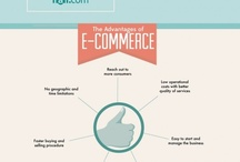 E-commerce infographics / A collection of e-commerce and online sales infographics