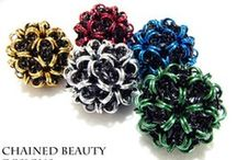 Chainmaille unit weaves / by Lone Tree Studio