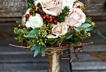 Wedding! / Pulling together a vision for a winter theme  / by Amy Karn