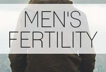 Men's Fertility / Men get started boosting your fertility naturally with these fertility tips. #MaleFertilityTips