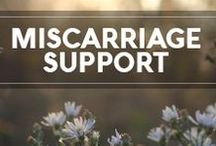 Miscarriage Support / Miscarriage brings up an overwhelming array of emotions. Many acknowledge the emotional aspect, but what is less considered is the physical impact miscarriage has on the body.