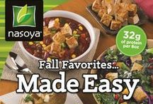 Fall Favorites Made Easy / Fall favorite recipes using Nasoya / by Nasoya Brand