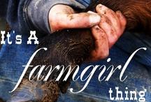 its a farmgirls thing...
