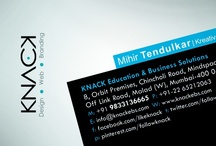 Business Card Designs (KNACK) / Help us select our New Business Card Design to print... :-)