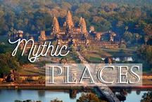 Mythic Places / Landmark Buildings of Vietnam, Laos and Cambodia. #travel #inspiration #mustsee #unesco #monuments