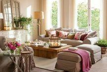 Indoor Beauties: Living-Rooms and Studios / by Maria Budano