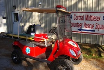 Middlesex Volunteer Rescue Squad Ambulance Conversion Golf Cart