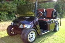 Low Rider Golf Carts / These are some of the golf carts that I have lowered, pimped out at its best