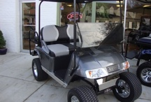 Lifted and Gifted Golf Carts