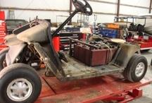Dirty Work on Golf Carts