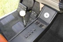 Custom Designed Golf Cart Interiors