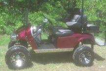 Full Custom 2013 Ez Go Gas Golf Cart  / This is a 2013 Ez Go Gas Valor full custom golf cart.