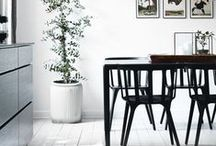 Place of enjoyment and meeting / Dining table - the basis of the household.