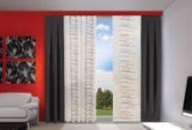 Gordijnen van Gordijnshop.nl / Kom naar Gordijnshop.nl en vindt een grote collectie overgordijnen van uni tot barok. Voor elk wat wils! Eenvoudig online zoeken en bestellen, binnen  12 werkdagen in huis en dan ook nog eens tot 70% goedkoper!