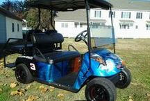 Dale Earnhardt Custom Golf Cart