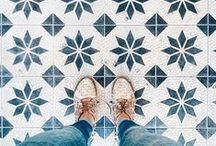 pattern / Pattern love! Wallpaper, tile floors, fabric and basically any kind of surface pattern.