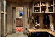 ideas for our Austrian chalet / Chalet furnishings, alpine modern, rustic, landhaus
