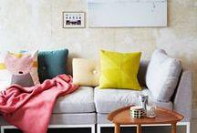 interior / Beautiful + bright interior inspiration.