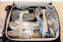 Itens para Viagens / Dicas de roupas e arrumação de malas para viagens