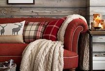 Chalet soft furnishings / Ideas for our mountain chalet apartment