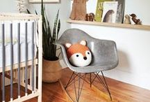 Woodland nursery theme / We all love a fox, bears and badgers too so why not create a cosy little woodland den for your little one?