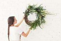 holiday / Holla-days! So many craft, tablescapes, ideas, and inspiration for chic and modern seasonal celebrations.