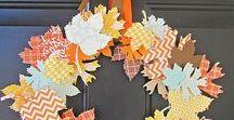 Ősz / Őszi dekorációk