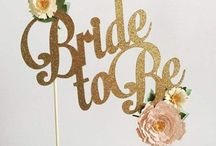 Bridal Shower / Hi ladies! Here I will be adding different bridal shower ideas that I like! Feel free to add some of your own! Can't wait to celebrate with you all!