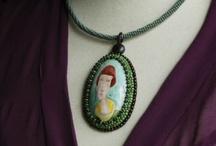 my necklaces / moje naszyjniki