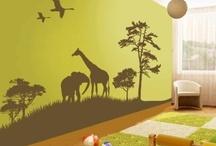 Giraffes and Elephants / by Deb La croix
