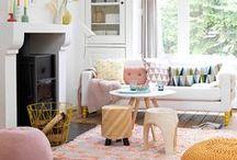 { couleur * color home & work } / Les couleurs de la vie, de la maison et du lieu de travail. * Colors for everyday.