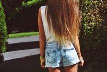 Casual Fashion and Hair