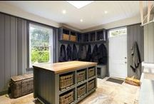 laundry/mudroom/pantry spaces