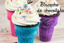 Cupcakes in Cone
