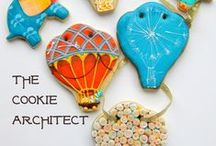 Hot Air Balloons- Whimsey and Elephants / Cookie project