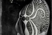PM: Tribals, Maori, Marquesan & + / p A I N T m E